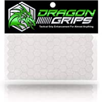 Dragon Grips Clear Non Slip Hexagon Decal Sticker 57 Pieces Cell Phones Phone Cases Gaming Controller Mouse Laptop Tools…