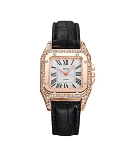 Women Watch,Becoler Fashion Color Strap Digital Dial Leather Band Quartz Analog Wrist Watches,Gift,2019 New Fashion
