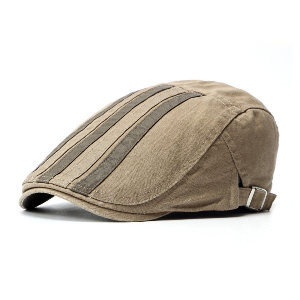 Anshili Uomo Cotone Cappello Flat Cap Beret