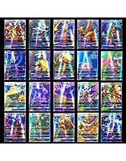 200 stuks Pokemon-kaarten, Pokemon-kaarten, Pokemon-ruilkaarten, kaartspel, ruilkaarten, Trainerkaarten, Pokemon-kaartspel Battle Card, kindergeschenken (195GX + 5MEGA)