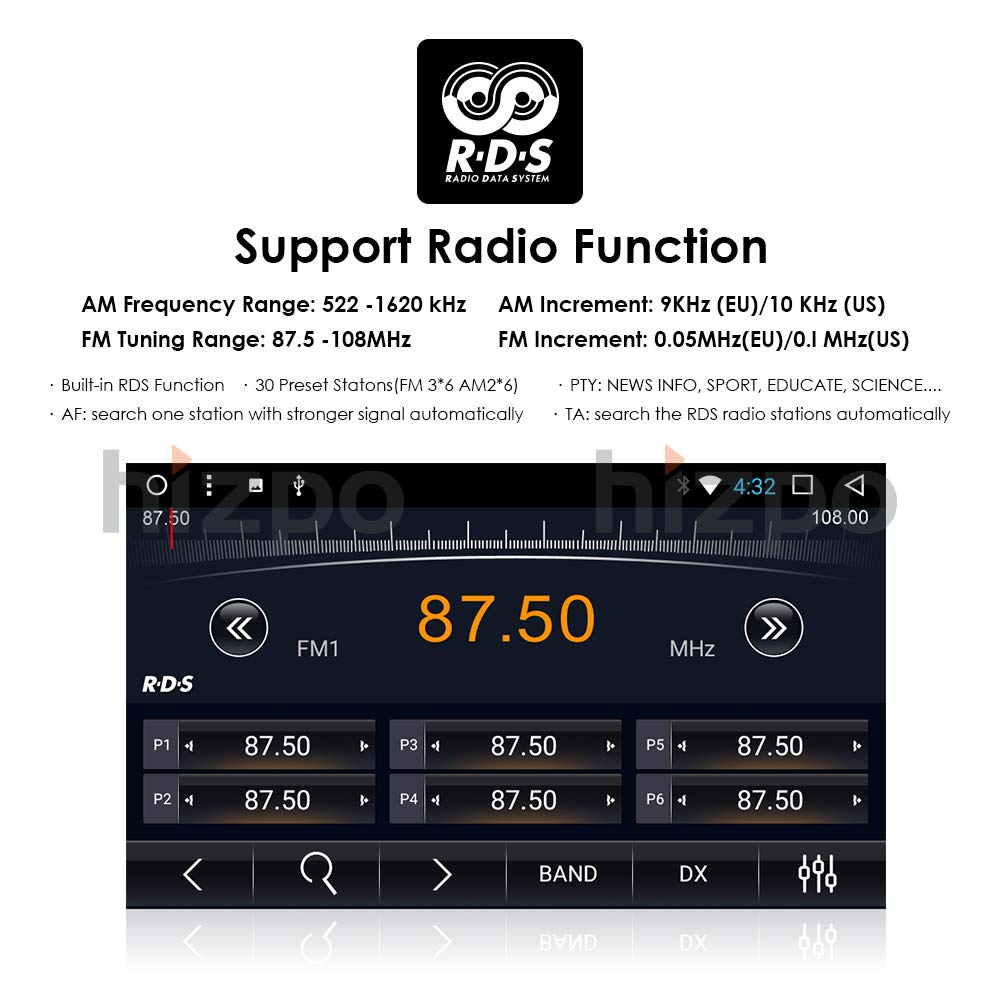 Car Video Multi-Media Player Toyota Camry 2007 2008 2009 2010 2011 Android 7.1 Octa Core 9 Inch Screen GPS Navi BT Radio RDS DTV USB Android//iPhone Mirrorlink SWC JBY TECH
