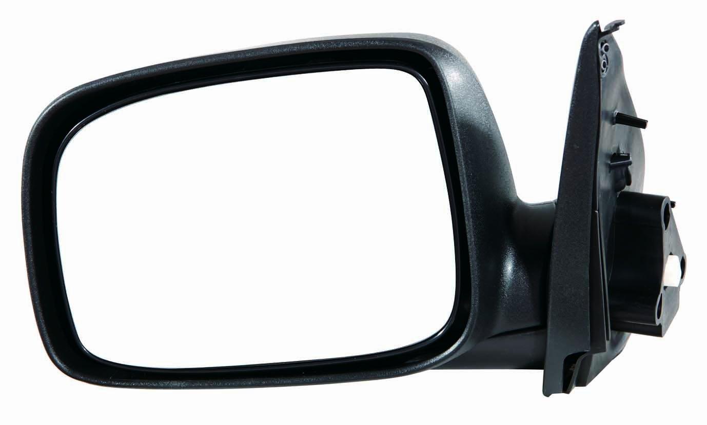 Depo 335-5405L3EF Texture Black Driver Side Power Non-Heated Mirror