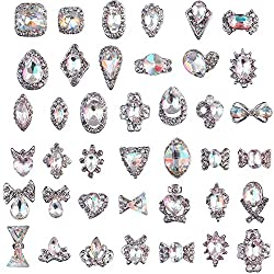 Colorful Crystals Nail Art Rhinestones Charms