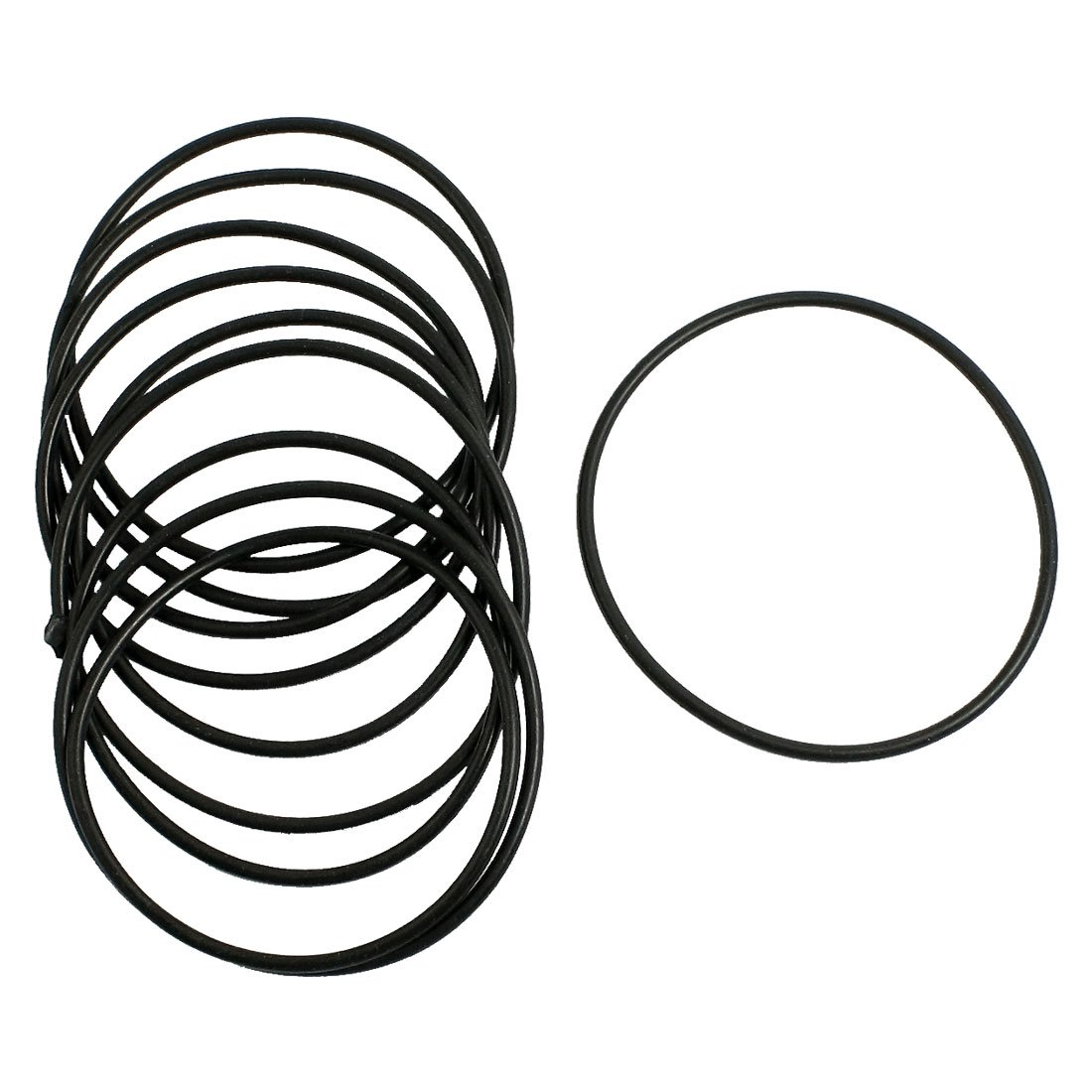 Uxcell Rubber Sealing Oil Filter O Rings Gasket (10 Piece), Black, 2.5mm x 65mm Dragonmarts Co. Ltd. / Uxcell a13030700ux0507