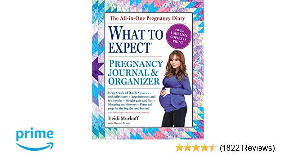 The what to expect pregnancy journal organizer heidi murkoff the what to expect pregnancy journal organizer heidi murkoff sharon mazel 0019628142122 amazon books fandeluxe Choice Image