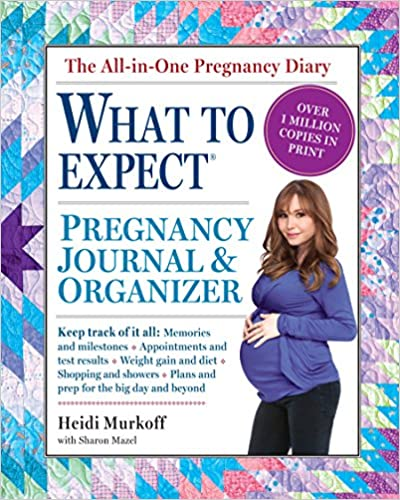 The what to expect pregnancy journal organizer heidi murkoff the what to expect pregnancy journal organizer heidi murkoff sharon mazel 0019628142122 amazon books fandeluxe Images