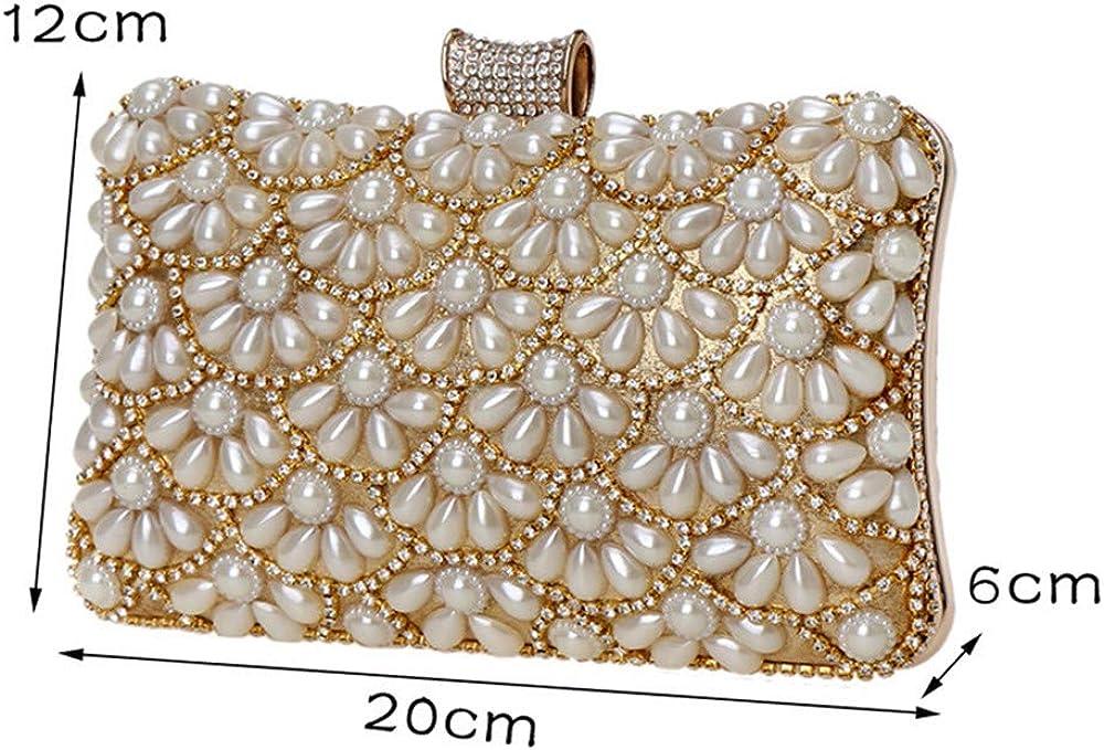 Banquet bag Womens Banquet Bag Pearl Clutch Bag Evening Bags Wedding Party Shoulder Bag