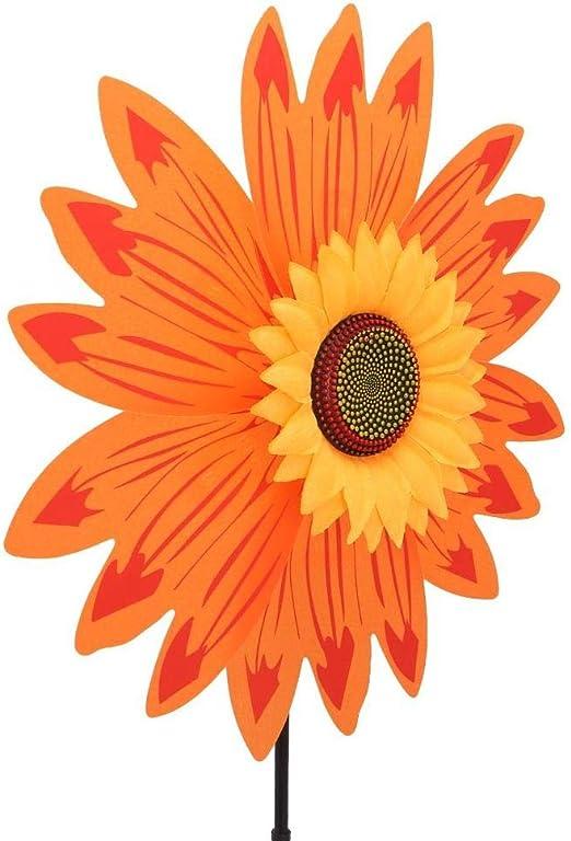 Uteruik Molinillo de Viento para decoración de Fiestas, Jardines, Palomas, pájaros, espantapájaros, 1 Unidad, ABT#10: Amazon.es: Hogar