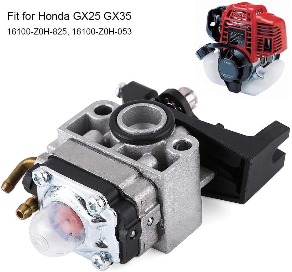 16100-Z0H-053 Qiilu Carburetor Carb Replaces for Honda GX25 GX35 16100-Z0H-825