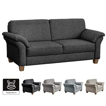 Cavadore 3 Sitzer Byrum Im Landhausstil Großes Sofa Mit Federkern