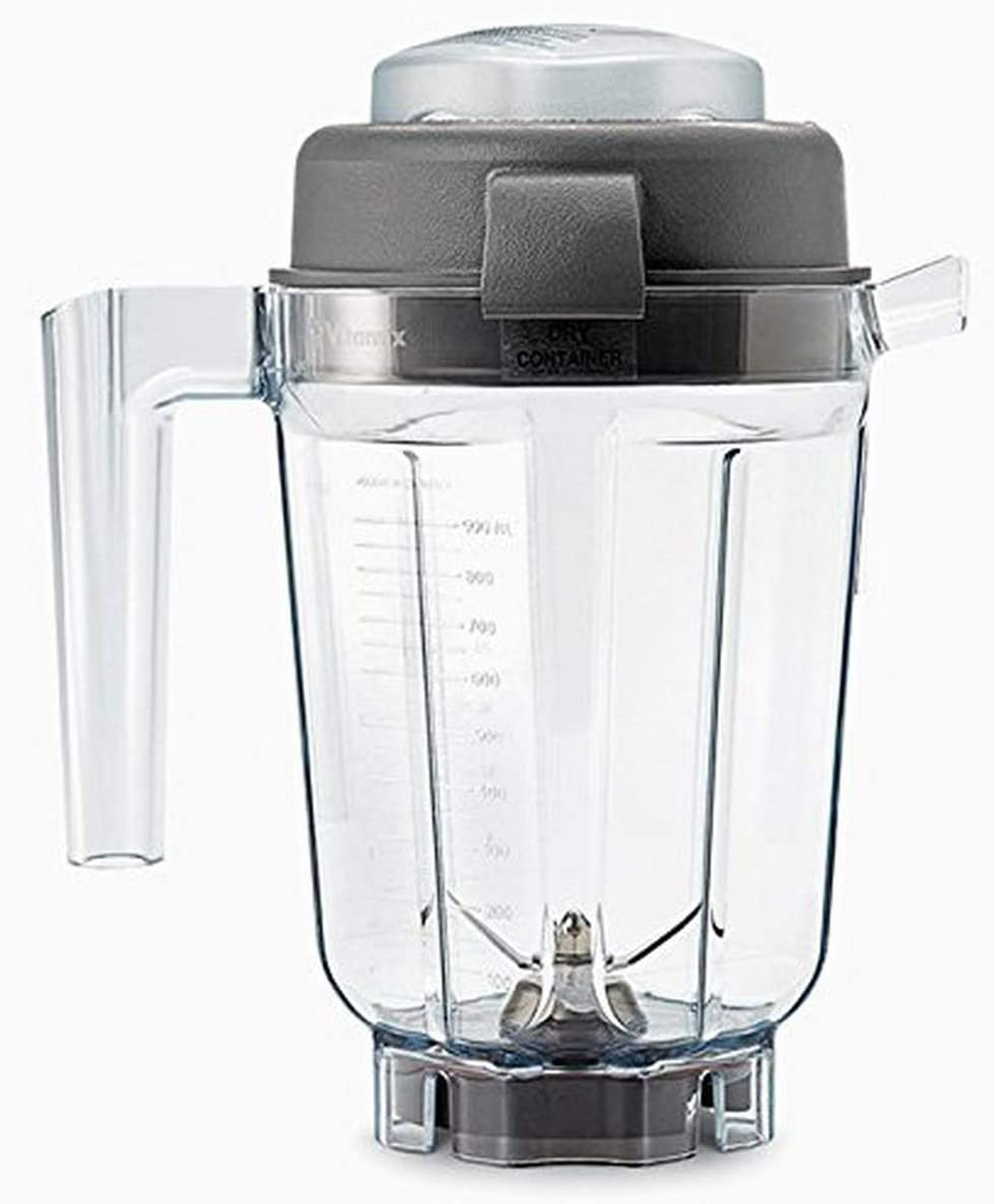 Vitamix 15845 32 Ounce Dry-Grains Container,Clear