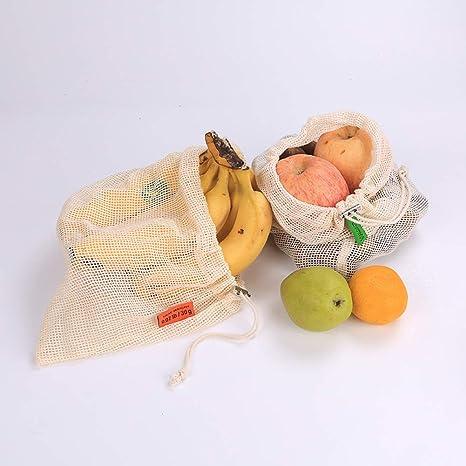 Bclaer72 Bolsas Reutilizables, 3 Bolsas de comestibles para ...