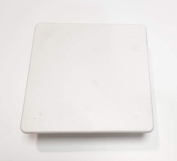 Tapa Caja Empalme 100x100mm Garra Metálica: Amazon.es: Bricolaje y ...