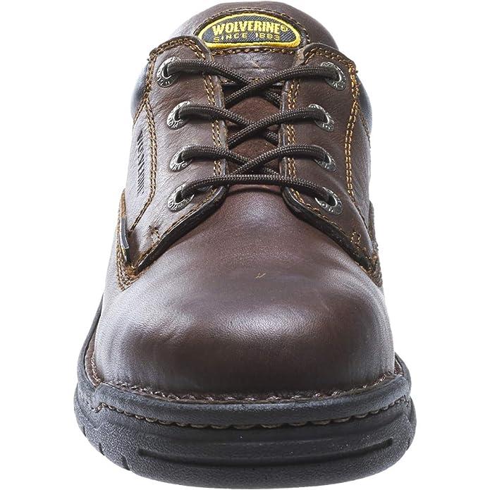 47bd8b7995d Wolverine Men's Exert Steel Toe Work Shoe