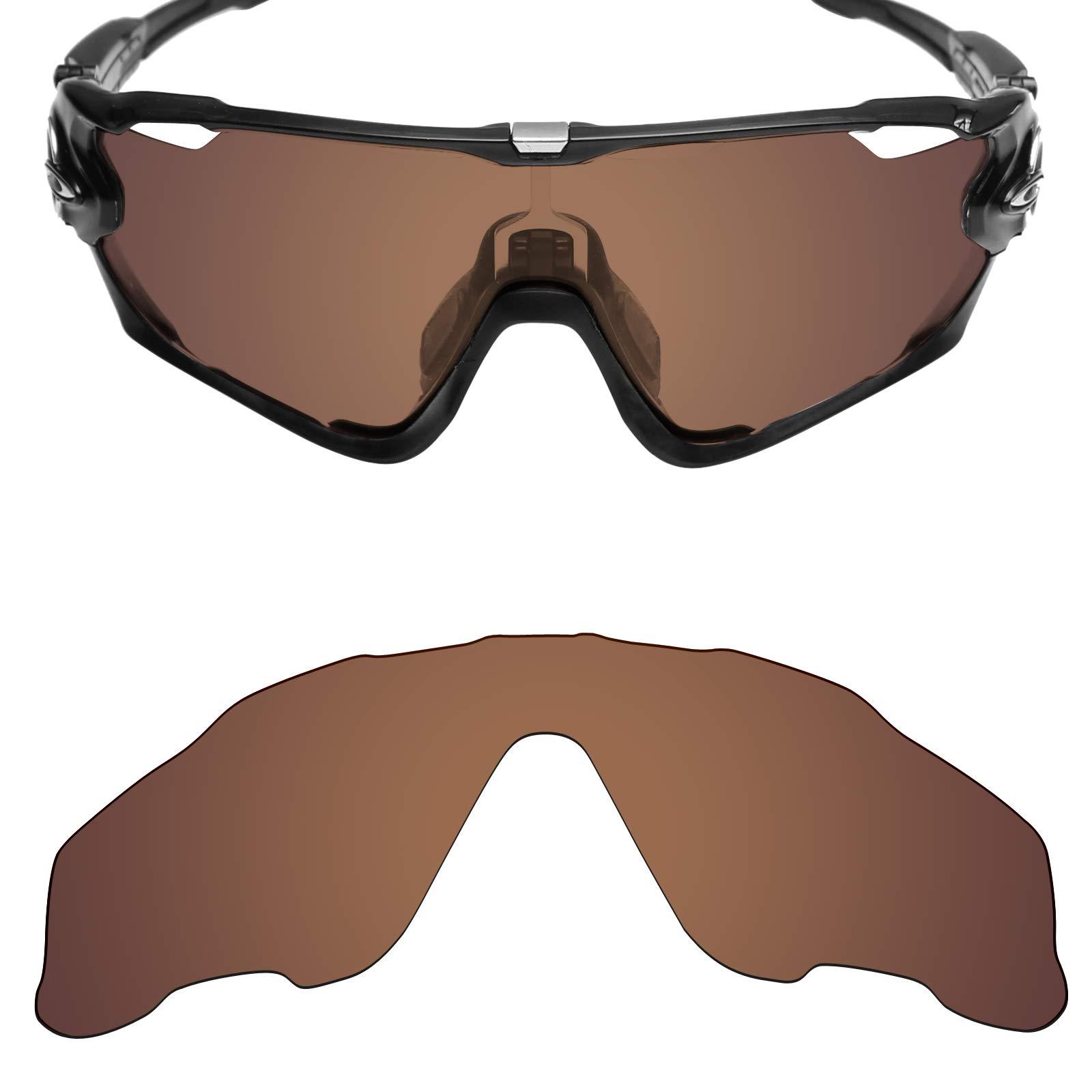 Mryok UV400 Replacement Lenses for Oakley Jawbreaker - Bronze Brown e8a99f99b8