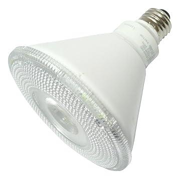 TCP led14p38d41knfl - LED - 14 W - PAR38 - 90 W igual - 5618 Bujías - 25 deg. Inundación estrecha - 4100 K blanco frío: Amazon.es: Bricolaje y herramientas