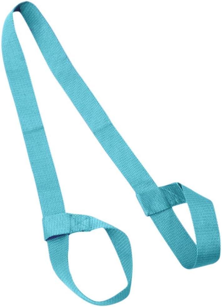 Hongxin Yoga Mat Straps Portable Yoga Adjustable Shoulder Strap Yoga Mat Sling Carrier Shoulder Carry Belt Exercise Stretch Carrying Yoga Strap Stretch Carrier Canvas Belt 2 pcs//set Custom colors