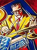 JOE MORELLO PRINT POSTER man cave drums cd lp record album vinyl tom tom snare cymbals impressions dave brubeck paul desmond