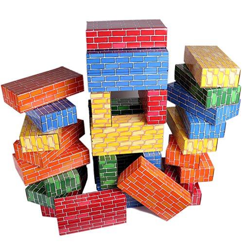 cardboard building blocks - 5