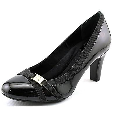 Giani Bernini Womens Vollett Leather Closed Toe Classic Dark Taupe Size 6.5 SL
