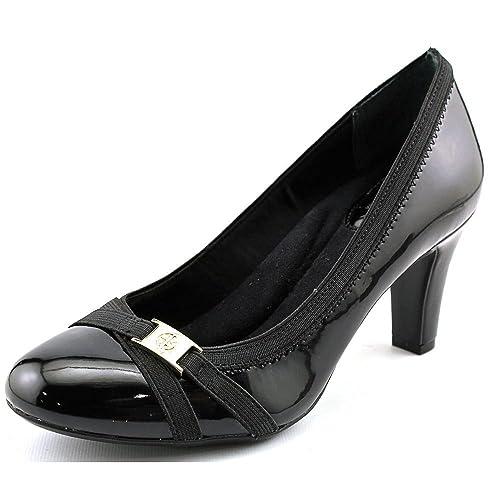 39d3595d984 Giani Bernini Womens Vollett Leather Closed Toe Classic Pumps