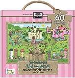 Innovative Kids Green Start Giant Floor Princess Fairyland Puzzles (60 Piece)