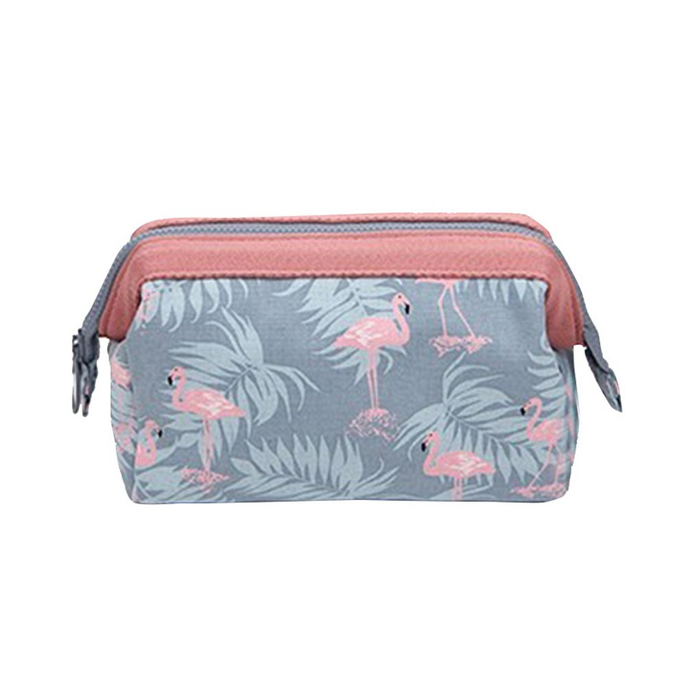 wenyujh Travel Toiletry Bag防水Zip Organizer Hanging Cosmeticメイクアップシャワーバッグ B07CWPW8GC  A