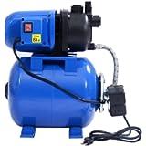Goplus 1.6HP Shallow Well Pump & Tank Garden Water Pump Jet Pressurized Home Irrigation 1000GPH, 1200W (Blue)