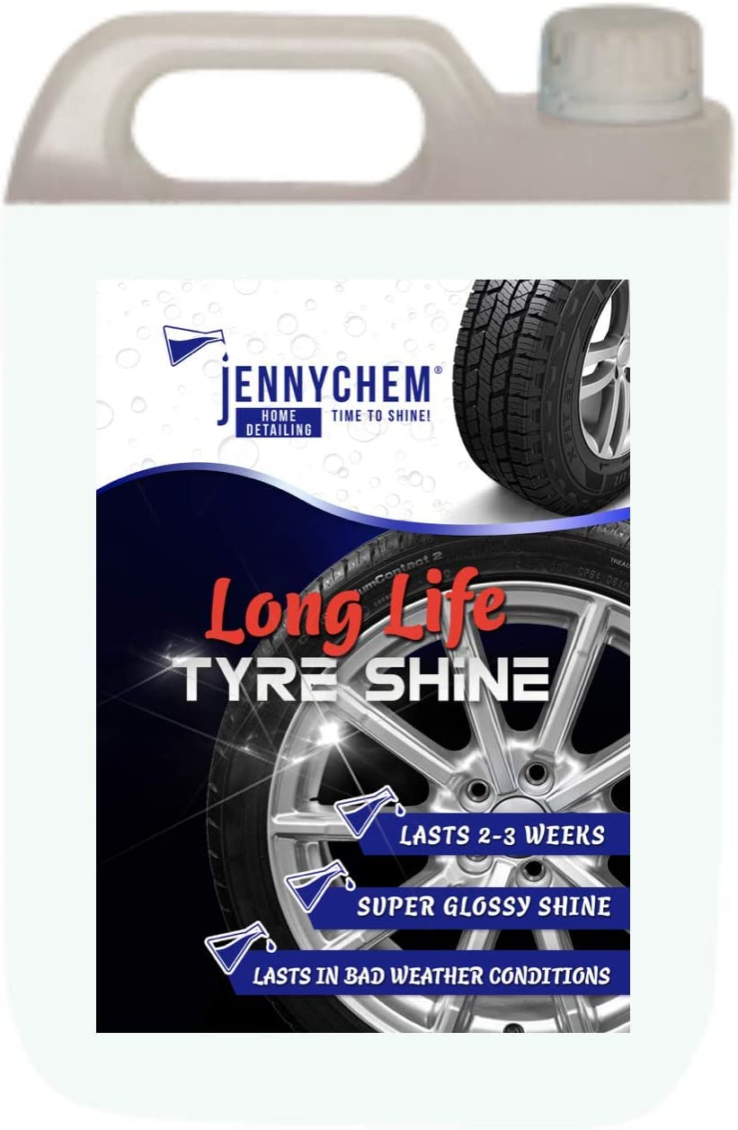 how to make car tyres shine