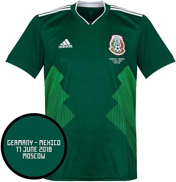 Camiseta de México 2018/2019 + México v Alemania Matchday Transfer ...