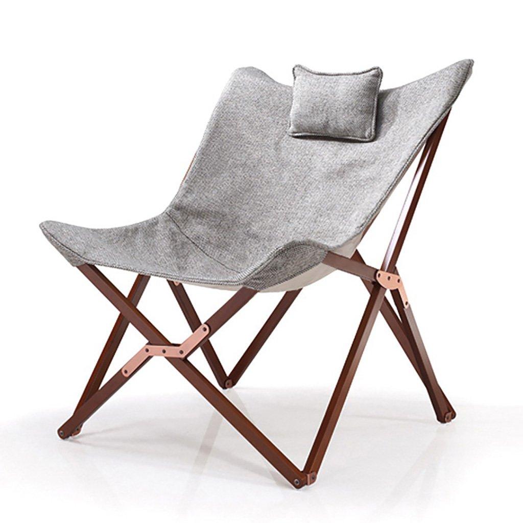 折りたたみチェアアームチェア 庭の木製のリクライニング芸術の折りたたみ椅子カジュアルなキャンバスの椅子取り外し可能で洗える B07T2PRJRP