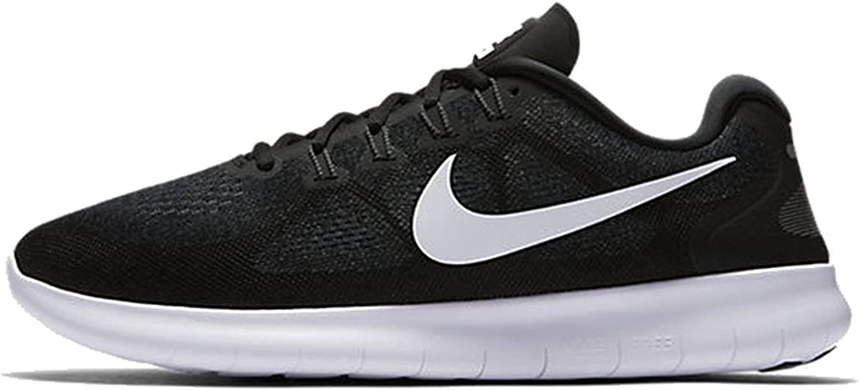 Nike Men S Free Rn 2017 Running Shoes Black White 11 Road Running