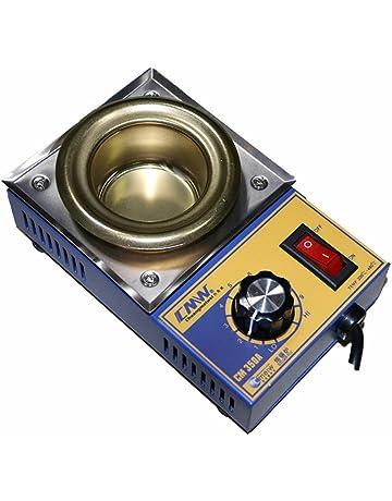 Crisol pozzetto para soldar estaño diámetro 50 mm 0,5 kg 150 W