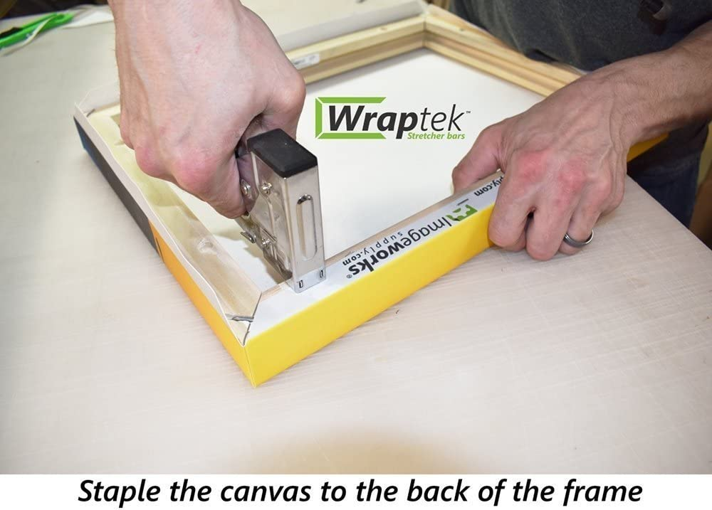 25 Canvas Stretcher Bars Frame 2 Bar Pack Wraptek
