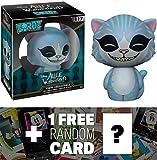 Cheshire Cat: Funko Dorbz x Disney Alice in Wonderland Mini Vinyl Figure + 1 FREE Classic Disney Trading Card Bundle (078164)
