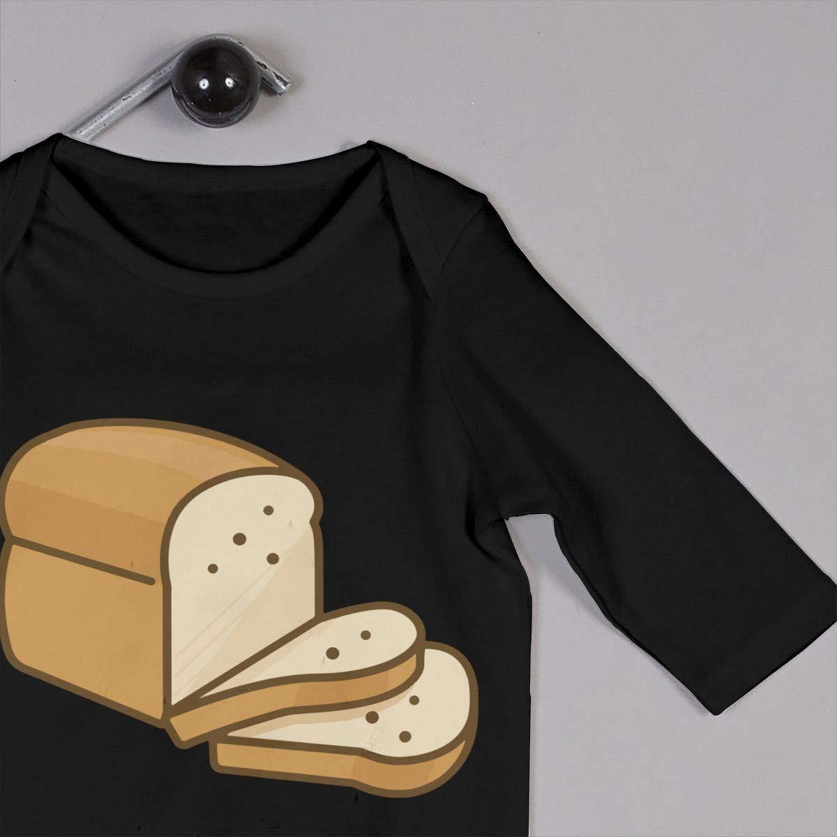 GOOD BBBaby Newborn Infant Baby Girls Printed Cartoon Bread Romper Jumpsuit