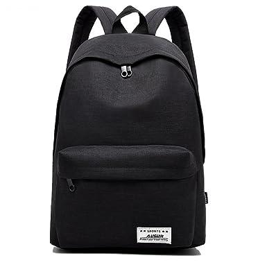 Oxford Waterproof Black Travel Backpack 14inch Laptop Bags School Bag for Teenagers  Backpacks mochila feminina 957 cd57e19df1054