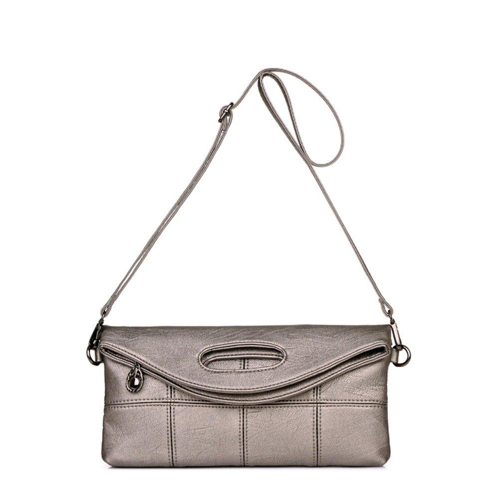 SJMMBB Hand Bag, Handbag, Handbag,Khaki,29.5X21X3Cm