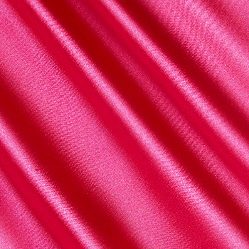 Ben Textiles Stretch Charmeuse Hot Pink Fabric By The Yard -