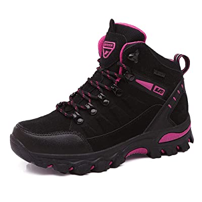 UUFLYME Womens Non-Slip Hiking Boots and Casual Lightweight Shoes for Women | Hiking Boots