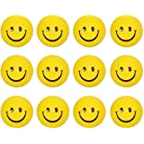 Gifts Online Smiley Stress Releive Squeeze Balls - Set of 12