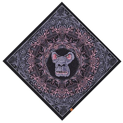 (Bandanas for Men - Not Fade Printed Pirate Pet Bandana Cowboy Large Scarf Headband)