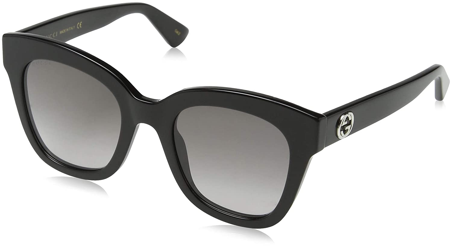 2e9716543a6 Amazon.com  Gucci GG0226S 001 Black Gold GG0226S Butterfly Sunglasses Lens  Category 2 Siz  Gucci  Clothing