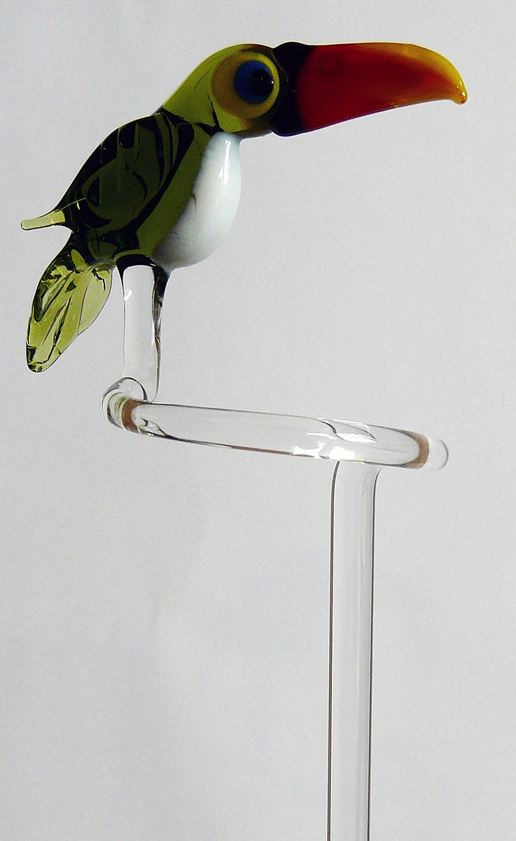 Orchid Orchideenhalter Orchid Rod Holders with Sweet Toucan