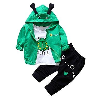 Amazon.com: Lurryly❤Ropa para niñas niños trajes de ...