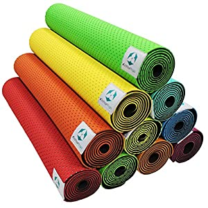 Yogamatte »Suri« / Umweltfreundliche und hypo-allergene TPE-Matte, weich und...