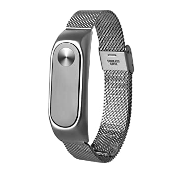 Amazon com : AutumnFall Lightweight Stainless Steel Wristband Band
