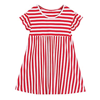 aaa53cbde77 Amazon.com  Baby Girl Dress,Beppter Independence Day Family Set ...