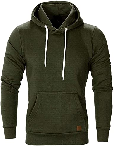Mens New Sweatshirt Sweater Hooded Hoodie Zip Sports Track Jumper Fleece Size