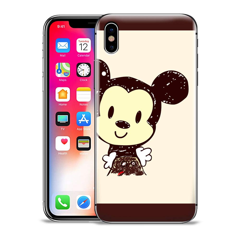 5a112f0b8 Amazon.com: GSPSTORE iPhone Xs MAX Case,Mickey and Minnie Mouse Disney  Pattern Protector Case Cover for iPhone Xs MAX #7: Cell Phones & Accessories